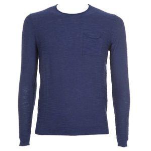 Viscose blend pullover with pocket