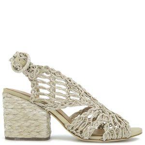 Millicent sandal in raffia