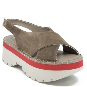 Asami Suede wedge sandal