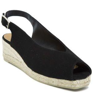 Dosalia black sandal