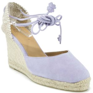 Carina sandal with 9cm rope wedge