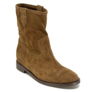 Goldphin suede leather ankle boot