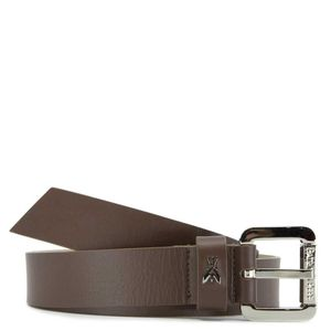 Smooth leather waist belt