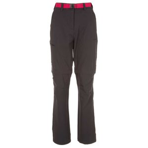 Black mountain trousers with belt