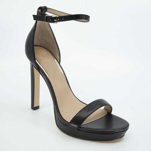 Sandalo Eira nero con tacco