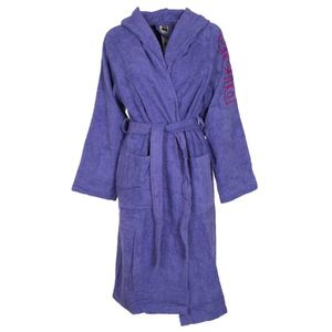 Terry bathrobe with logo