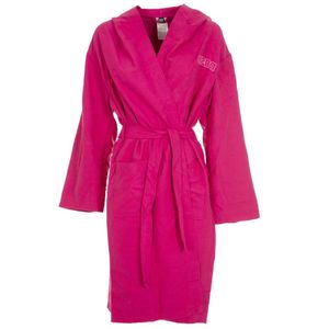 Zeal bathrobe in pink microfiber
