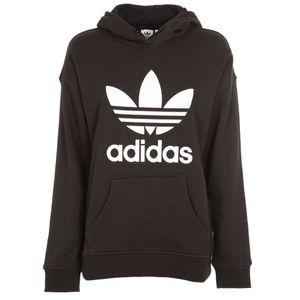 Black Adicolor Trefoil sweatshirt