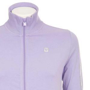 High neck sweatshirt with zip