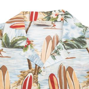 Surf print Baker shirt