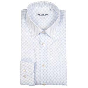 Shirt with slim micro-texture