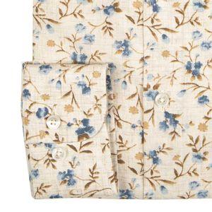 Floral slim fit shirt