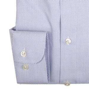 Slim fit shirt with micro texture