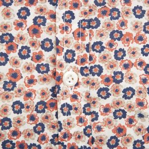 David floral cotton shirt