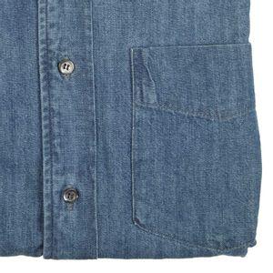 Classic denim shirt with pocket