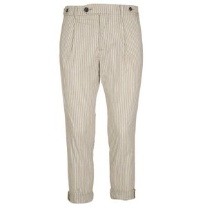 Pantalone Nathan a righe in cotone