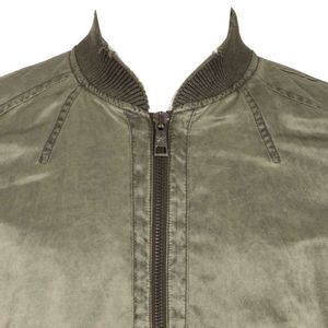 Green smooth cotton jacket