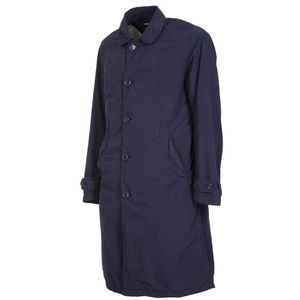 Trench over blu navy