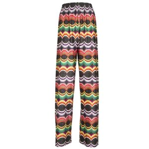 Montecarlo flare multicolored trousers