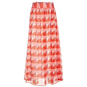Wide Lima skirt with print