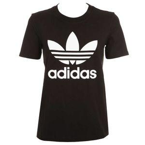 T-shirt Trefoil nera