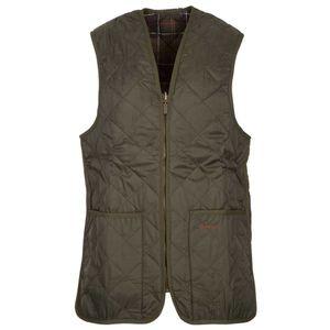 Diamond quilted nylon vest