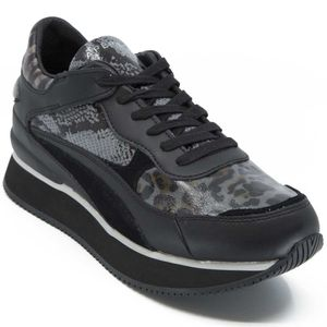Raven animalier sneakers