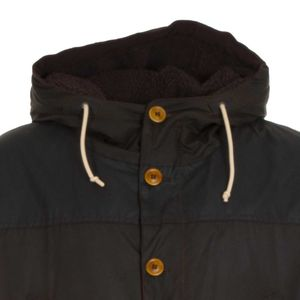 Game parka with faux fur lining