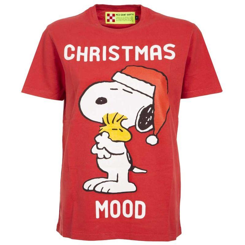 T-shirt_rossa_con_stampa_natalizia_Snoopy_M_1