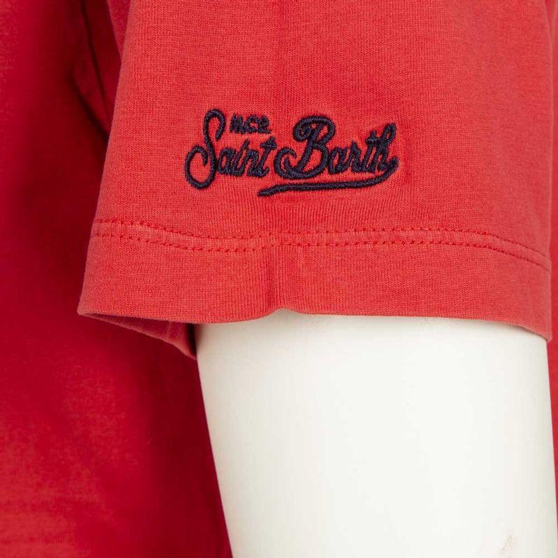 T-shirt_rossa_con_stampa_natalizia_Snoopy_M_2