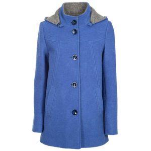 Caride boiled wool coat