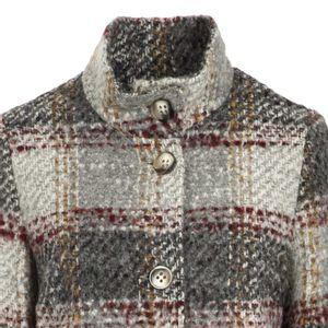 Telesq check coat