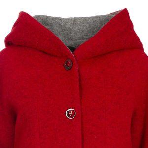 Cotor boiled wool coat