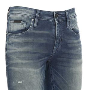 Tapered Ozzy jeans with abrasions
