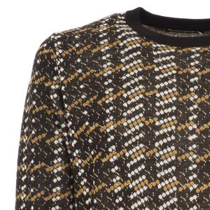 Techno Natural pullover in wool blend