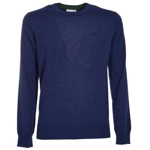 Pullover classic fit in pura lana
