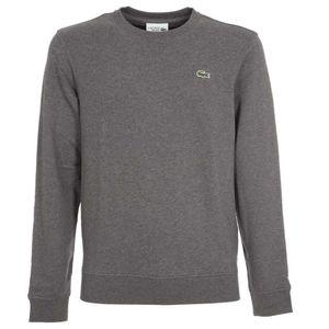 Fleece cotton sweatshirt with logo