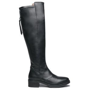 Wonderful black knee-high boot