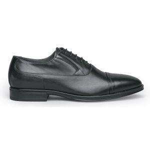 Ilcea black leather lace-up