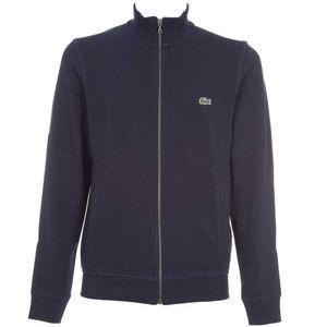 Sweatshirt in brushed cotton piqu√ ©