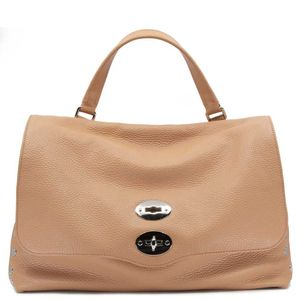 Postina M bag Daily line in pink peach color