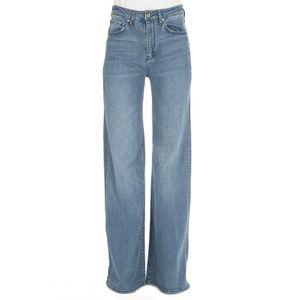 5-pocket flared jeans
