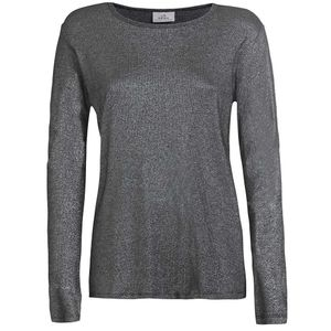 Long sleeve t-shirt with lurex