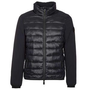 Tjornin bi-material down jacket