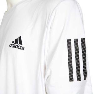 T-shirt bianca 3 Stripes Club