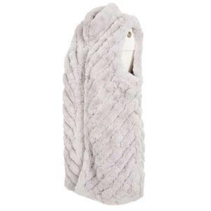 Gilet in eco-pelliccia foderato