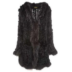 Cappottino lungo in pelliccia