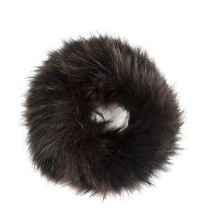 Cerchietto in pelliccia di volpe