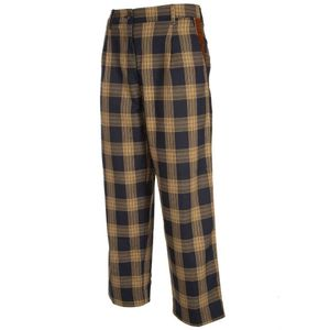 Rita checked baggy trousers