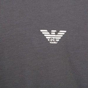 Maglia in cotone stretch con logo
